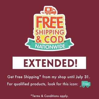 FREE SHIPPING & CASH ON DELIVERY