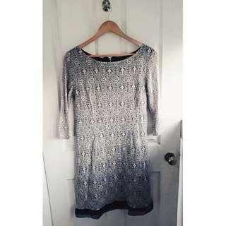 Beige/black PROMOD dress