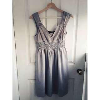 Grey/silver ZARA dress