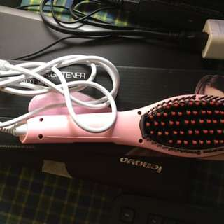 Straightener Brush