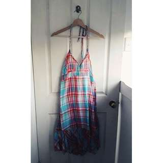 Colourful TIMEOUT dress