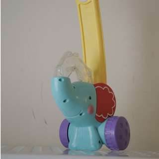 Fisher Price Pop N Push Elephant  SECONDHAND