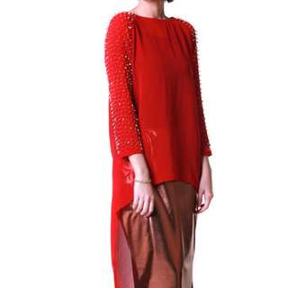 Naeema Chiffon Top 14 Nov By Yuna Zarai