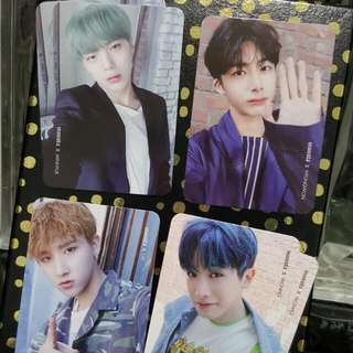 [WTT] Monsta X Young Forever Photocards