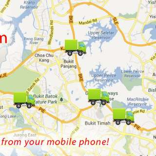 Free Gps Car Tracking System Positioning Fleet Management