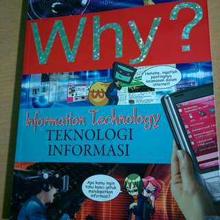 Buku komik edukasi 'WHY'