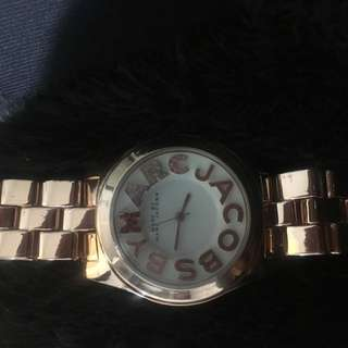 Marc Jacobs Rose Gold Watch