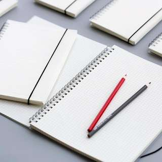 MUJI A5/B5 PP Cover Double Ring Notebooks