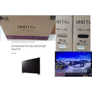 "BNIB Brand New -LG 43"" 4K SuperUHD SmartTV with free delivery /LG warehouse & 3yr LG warranty --30% discount"
