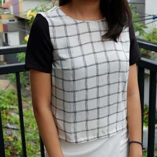 Crop Blouse The Executive