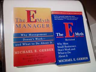 E-MYTH- MUST HAVE BUSINESS BOOKS