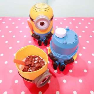 Minion Cereal cup / Minion Bottle