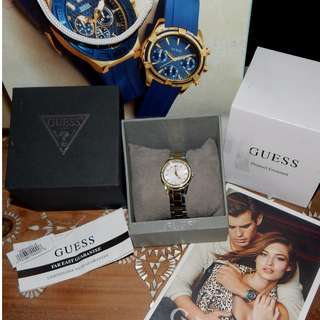 GUESS desire stone set ladies watch