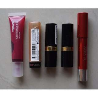 Revlon Lipstick & Watson (PRELOVED) ALL RP. 120.000