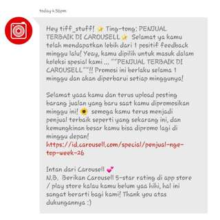 Thank You Carousell 😊