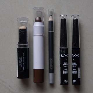 All about Eyes \\Revlon NYX E.L.F. Clinique\\ (PRELOVED) All RP. 125000