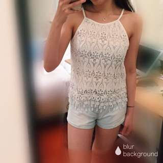 Quality lace top