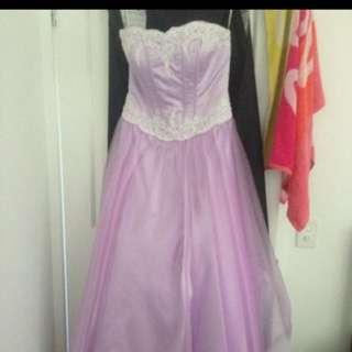 Purple Princess Formal Dress