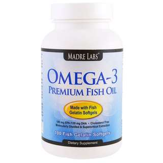 Omega-3 600mg Fish Oil
