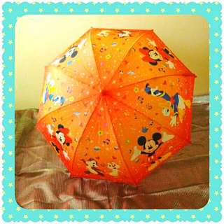 AUTHENTIC DISNEY Mickey and Friends Umbrella