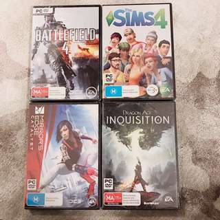 Pc Games Bundle Brand New Unopened