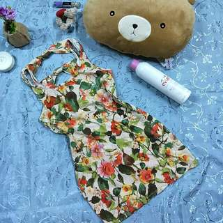 Forever21 Bodycon Floral Dress