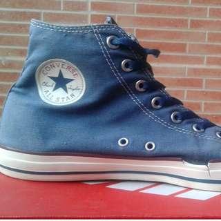 Converse Shoes Blue Authentic DC Comics- Superman