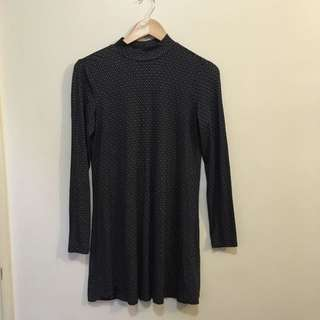 OVS turtleneck Dress Size S (8-10) Geometric Print