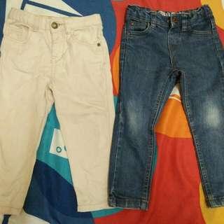 Khakis Long Pant & Slim Fit Jeans