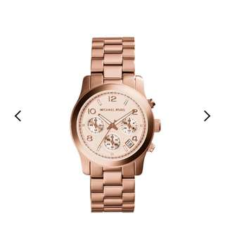 Michael kors Runaway Rose Gold Watch