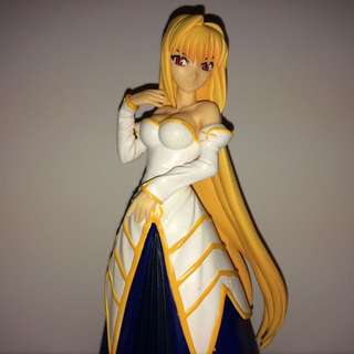 Authentic Japan Anime Large Size Figure: Melty Blood Act Cadenza Vol.4, Arcueid. SEGA Product In 2007.