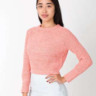 American Apparel Cropped Fisherman Sweater