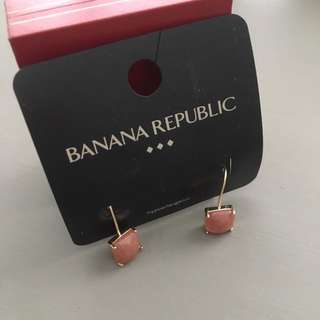 Brand New Banana Republic Earrinvs