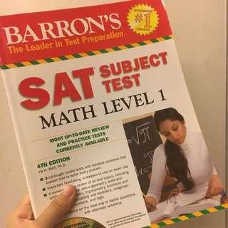 SAT全新數學題本