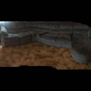 7 Seater Lounge With 2 Recliners