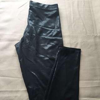 Black Milk Clothing- Black Reptilian Leggings