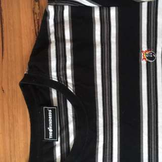 The Hundreds Striped Tee - Size Medium