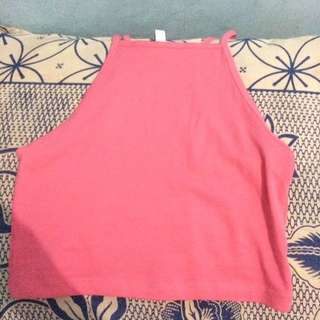 CROP TANK TOP DIVIDED BY HNM