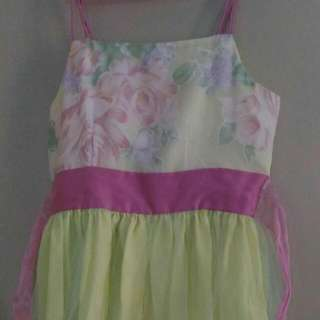 Princess Type Dress Spag Strap