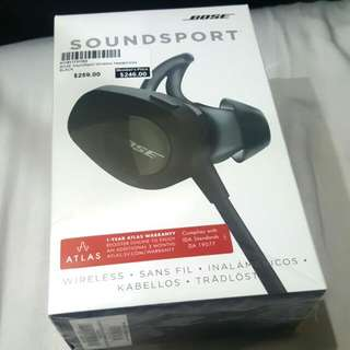 Bose Soundsport Black