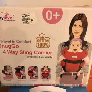 4-way Baby Sling Carrier