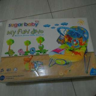 Baby Bouncer Musical Merk Sugar Baby