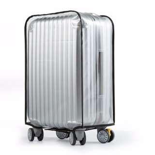 行李箱保護套 拉桿箱 旅行箱透明防塵套 旅行箱保護套 防水 耐磨 加厚#Y171