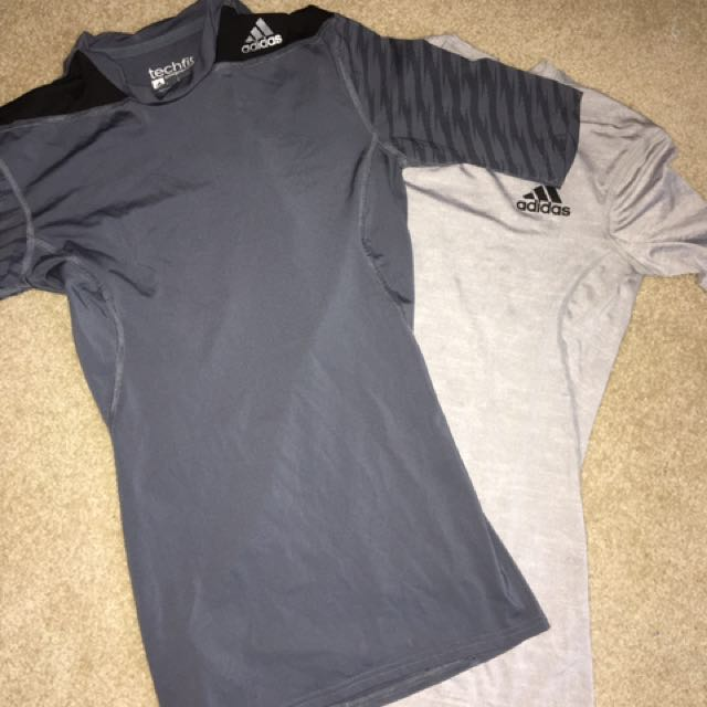 Adidas Compression Shirts