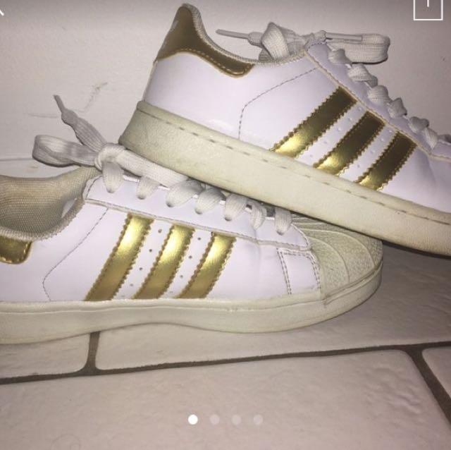 Adidas Superstar Shoes size 5.5 AU