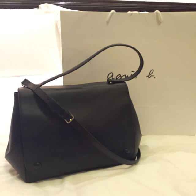 Agnes b 牛皮包包