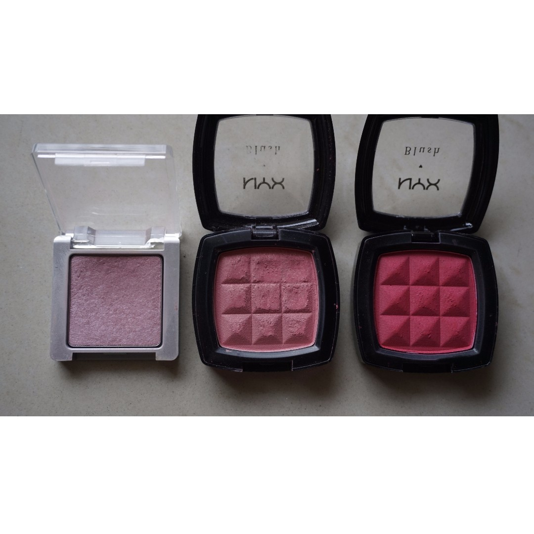 All about CHEEKS \\Clinique NYX\\ (PRELOVED) ALL Rp.100000