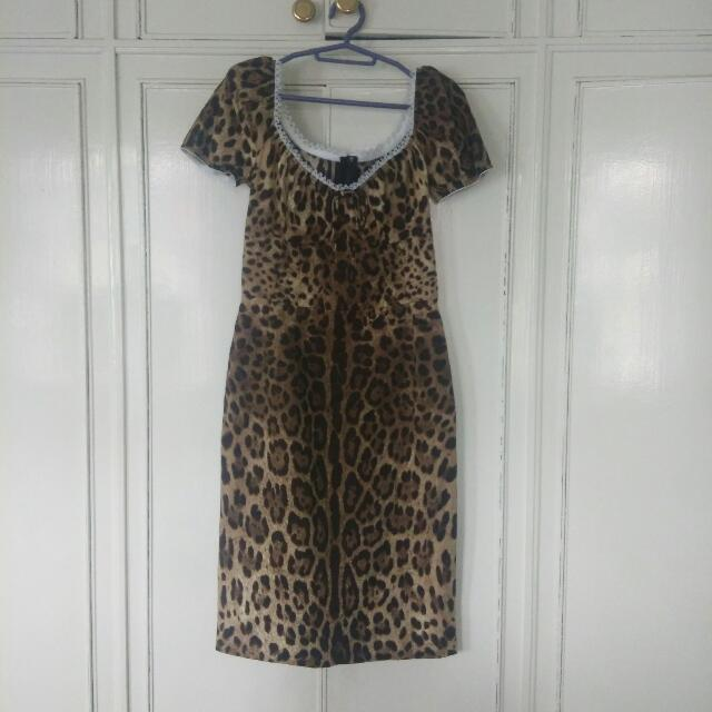 Authentic Dolce And Gabbana Dress