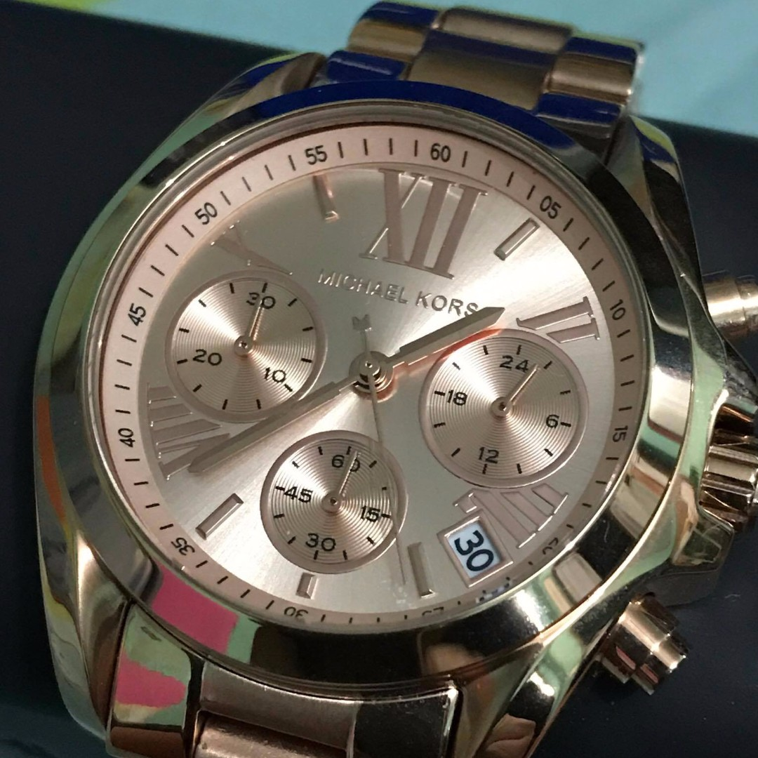AUTHENTIC MICHAEL KORS WATCH - Rose Gold