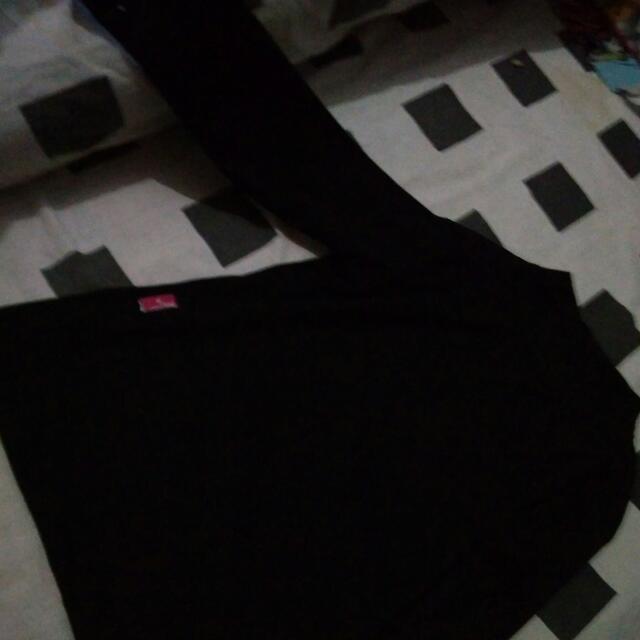Baju Lengan Panjang Anak Hitam Ukuran 5th